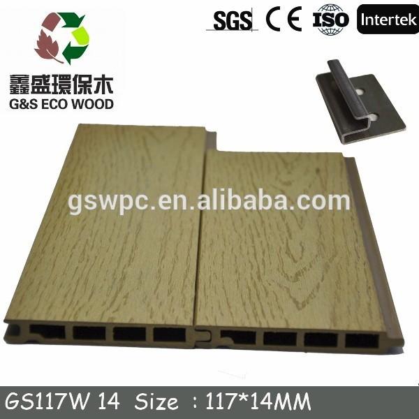 Pas cher prix eco friendly bois plastique composite for Panneau bois exterieur pas cher