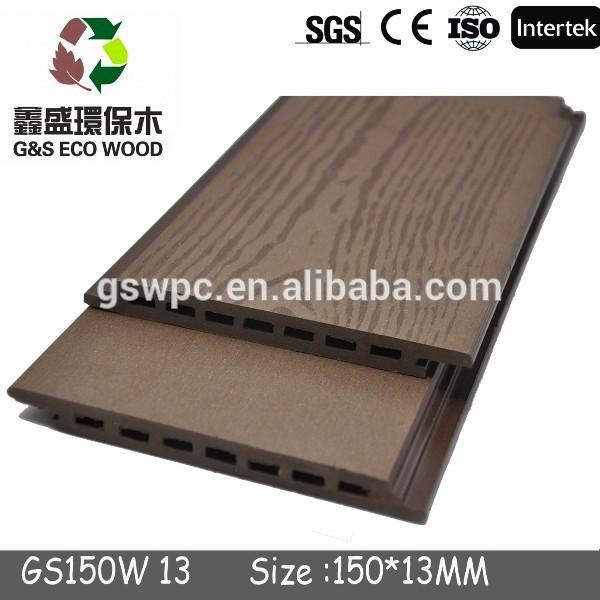 Pas cher prix eco friendly bois plastique composite - Revetement de sol pas cher plastique ...