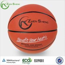 Zhensheng basketball ball size