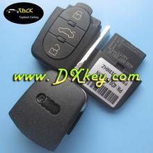 High quality 3 buttons car remote key for Audi A6 smart key Audi A6 remote key N model 4D0837231N 433MHZ ID48 chip