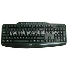 Wired USB multimedia keyboard