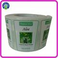 Impression de haute qualité adhésif cusotmized étiquette savon liquide