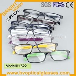 2015 New Fashion acetate frame optical for prescription for women(1522)