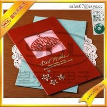 2014 Fancy design custom paper envelop, christmas padder cards envelop, visa invitation letter envelop with sound module