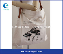 eco expandable cotton shopping bag cotton tote bag