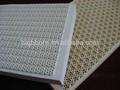 De nido de abeja de infrarrojos de cerámica de la placa para la quema, infrarrojos quemador de gas de la placa