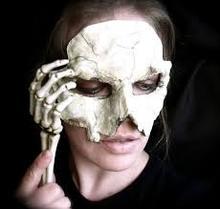 Wholesale halloween plastic skull mask,new design plastic skull mask