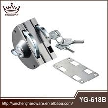 Foshan fabricante suministros personalizar 201 304 Ss superior doble swinging cerradura de la puerta