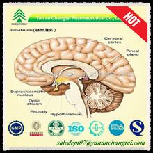 Healthcare Supplement pure quality melatonin 3mg powder for sleep