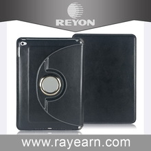 Special new coming three fold leather case for ipad 6
