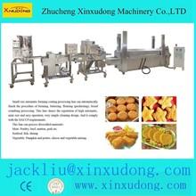 hamburger patty/chicken nuggets/coating snack machinery
