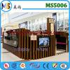 High end retail eyebrow threading kiosk China kiosk manufacture in mall