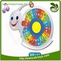 الأكثر مبيعا البلاستيكية التعليم الملونة الحلزون لعبة القرص الدوار