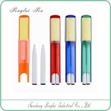 Compact 2 in 1 pen in promotional pens ballpoint pens