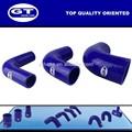 La manguera de silicona distribuidor/reforzado de la manguera de silicona/codo de 90 grados de silicona de la manguera de todos los tipos