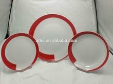 12pcs Luxury Fine Porcelain Dinnerware, Exlcusive Porcelain Dinnerware for 4 person