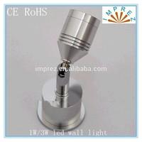 3W led wall light bed lamp hotel restroom bathroom bedroom wall lamp AC90~265V