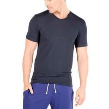 Custom mens V neck tee shirts bamboo clothing wholesale