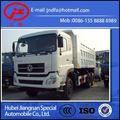 Euro III emissão de 6 x 4 traseiro dupla ponte, 10 rodas 290 hp motor diesel 30 toneladas dongfeng caminhão de descarga de venda JDF3250DFL