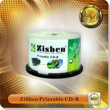 Printable cd r a grade virgin material Printable cdr / rw