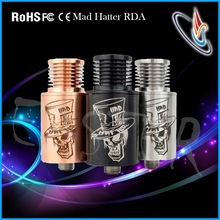Easy Dripping atty mad hatter atomizer clone with leaking prevention design