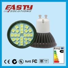 2015 new popular model high bright SMD5050/3528 mr16/gu10/e27 base 5w led spotlight price