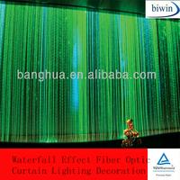 Waterfall Effect Fiber Optic Curtain Lighting Decoration