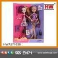 Nuevo producto 11.5'' rotativo de las articulaciones de vinilo juguetes y muñecas