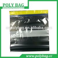 2015 pe food grade plastic bags zip lock bag for packing