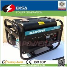 partable gasoline generators super silent gasoline generator sets for home use lower noise 1-5kva gasoline genset