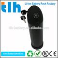 Wasserflasche 36v 10ah lithium-batterie für elektro-bike