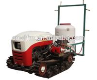 Chinese Remote Control Mini Crawler 7 kw Farming Tractor for sale