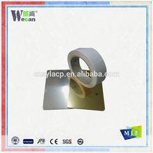 Usine de changzhou double face miroir intérieur et extérieur en aluminium panneau mural composite d'acm matériel