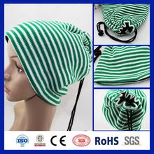 2015 New Korean Fashion Unisex Cotton Hip Hop Ring Warm Beanie Cap Autumn Winter Women Men Knitted Hats Beanies and Scarf