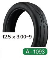 bicicleta rubber air square tire 12.5X3.00-9