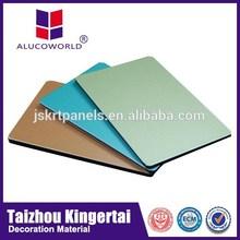 Alucoworld Fire-Proof Attribute Panel Aluminum Composite digital printing aluminium composite panel