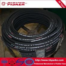 Wire / Fiber Reinforcement High Pressure Flexible Rubber Hose Pipe