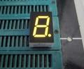 """0.5"""" amarillo del ánodo común casa aparato led del módulo de visualización"""