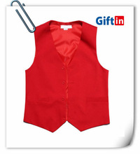 Personalized sleeveless work Uniform Desgin vest for bellboy uniform