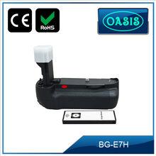 Bg-e7h empuñadura con mando a distancia IR BG-E7 para CANON EOS 7D