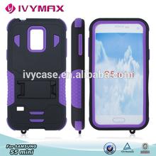 IVYMAX prestigio mobile phone case pc silicone case for samsung s5 mini