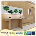 pina collection 3 étoiles hôtel portes en bois pour chambre à coucher