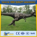 la vida cetnology de metal de tamaño estatua de dinosaurio para el parque