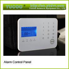 Home DIY GSM + PSTN dual network burglar alarm system