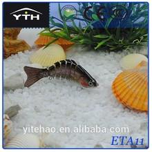 etech-all ETA11 new design exqusiite six jointed salmon lures