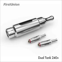 New product cartomizer smoking everywhere dual tank 240+ mixed flavor cartomizer starter kit