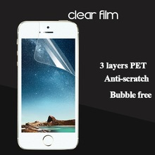 Classic HD clear screen protective film for iphone 5 best quality HD clear screen cover/guard/foils/film