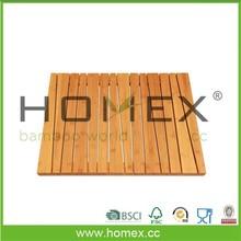 Bamboo Shower Mat/Anti-Slip/Bathrrom Floor Mat/Homex_FSC/BSCI