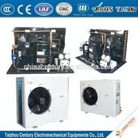 R404A HGZ200 2HP 3HP 4HP 5HP 6HP 7HP MBP open type or box type refrigerating unit