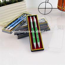 free sample mechanical pencil ball pen set WS-8005